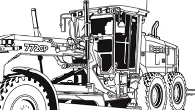 Screen shot of 772GP coloring page