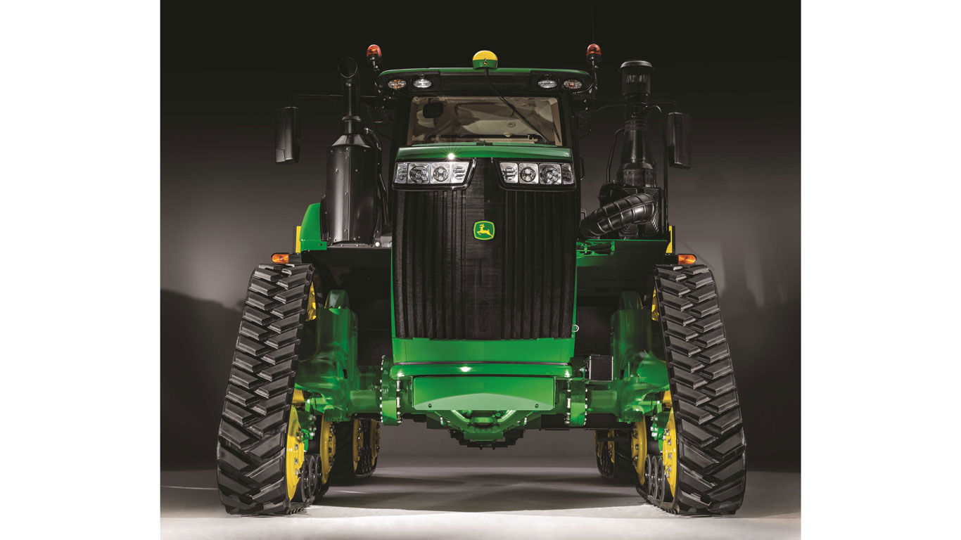 9RX Narrow Track Tractor studio photo