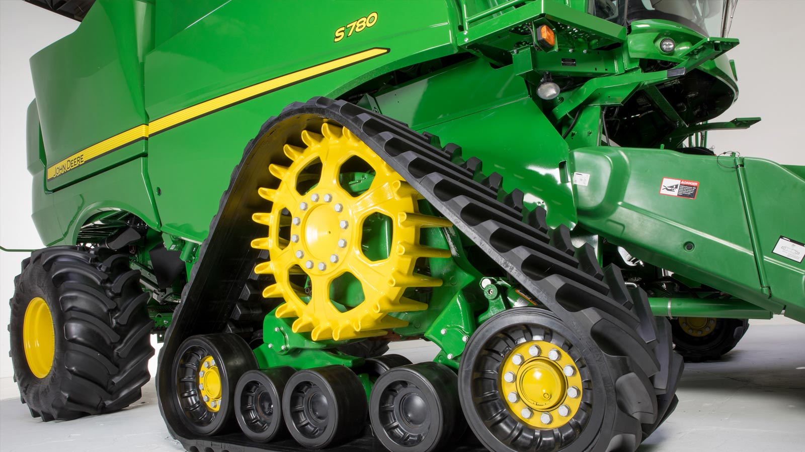 Tractor Track System : Track system draper and mobile app new for john deere