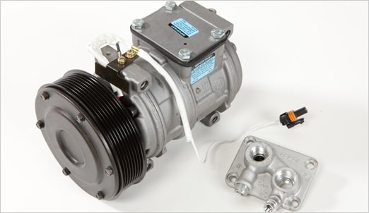 remanufactured air-conditioning compressor