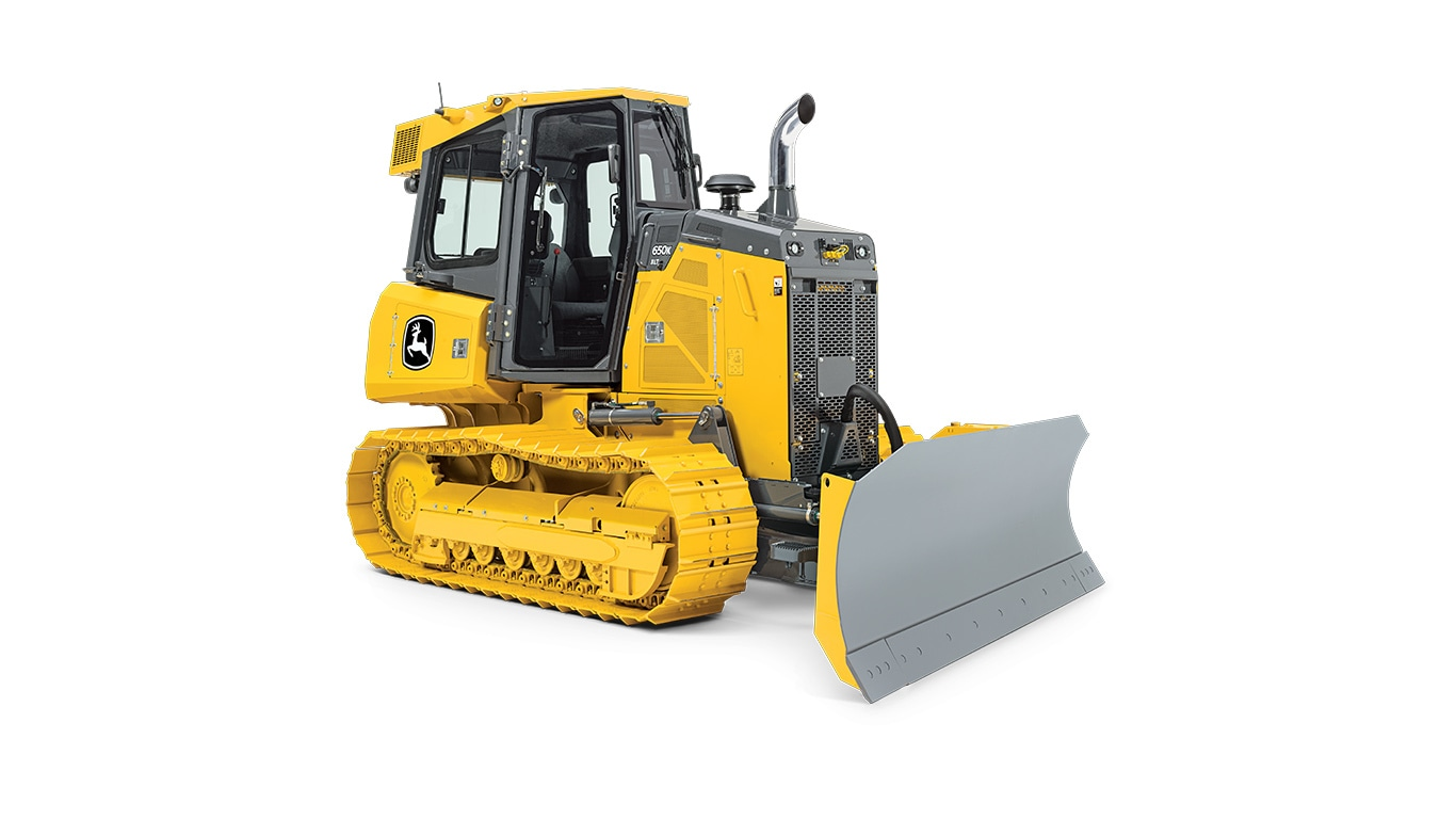 650K Dozer on white background