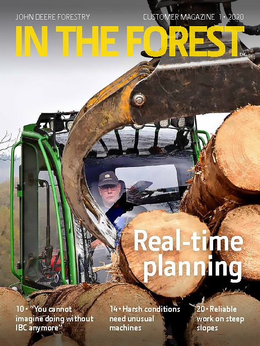 In The Forest customer magazine 1/2020 cover page