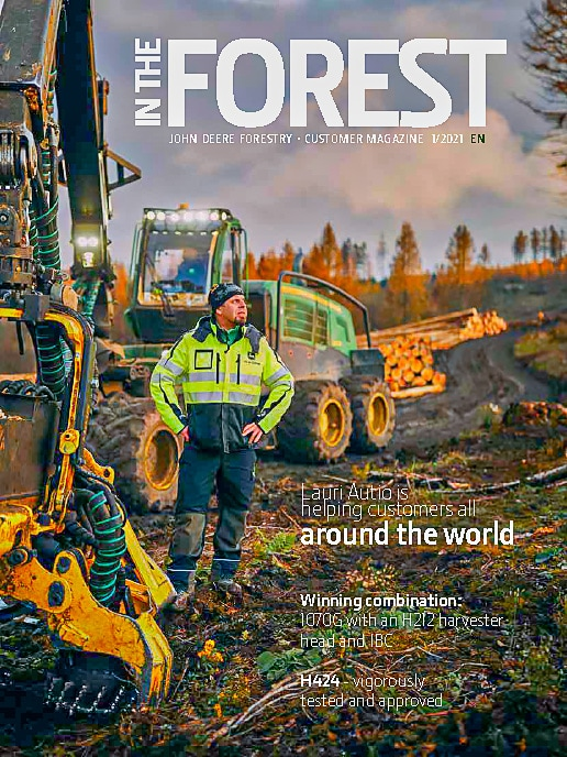 In The Forest 1/2021 magazine's cover
