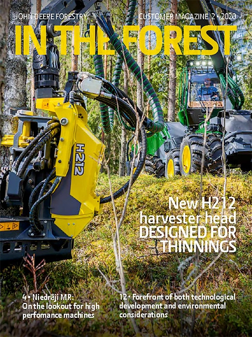 In the Forest customer magazine 2/2020