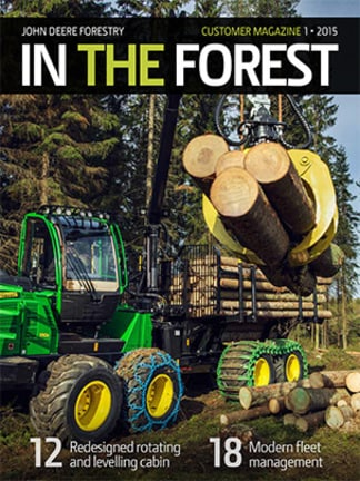 In the Forest customer magazine 1/2015