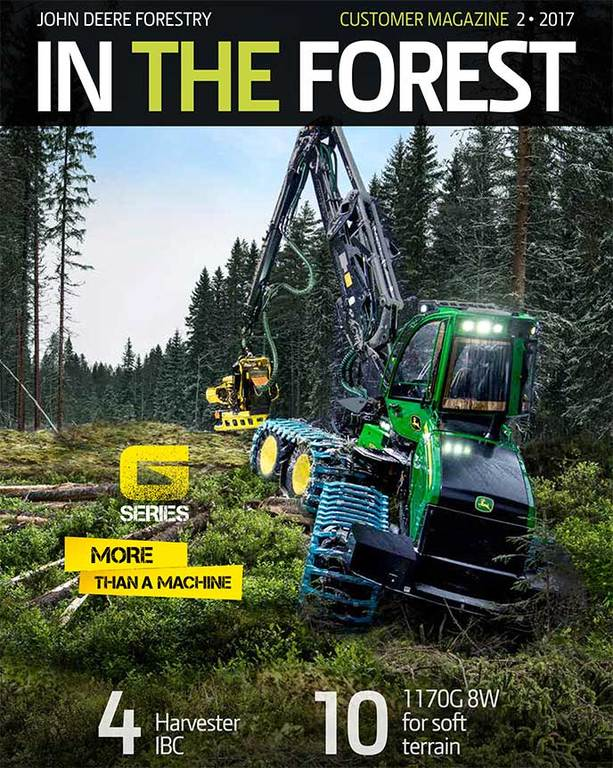 In The Forest 2/2017 magazine's cover