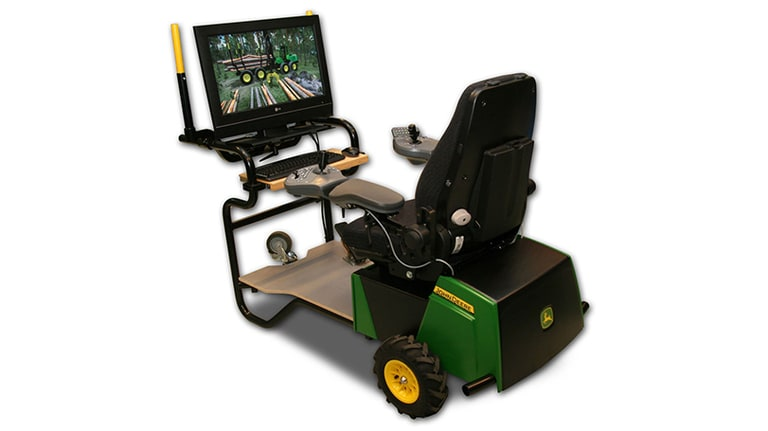 Forwarder simulator