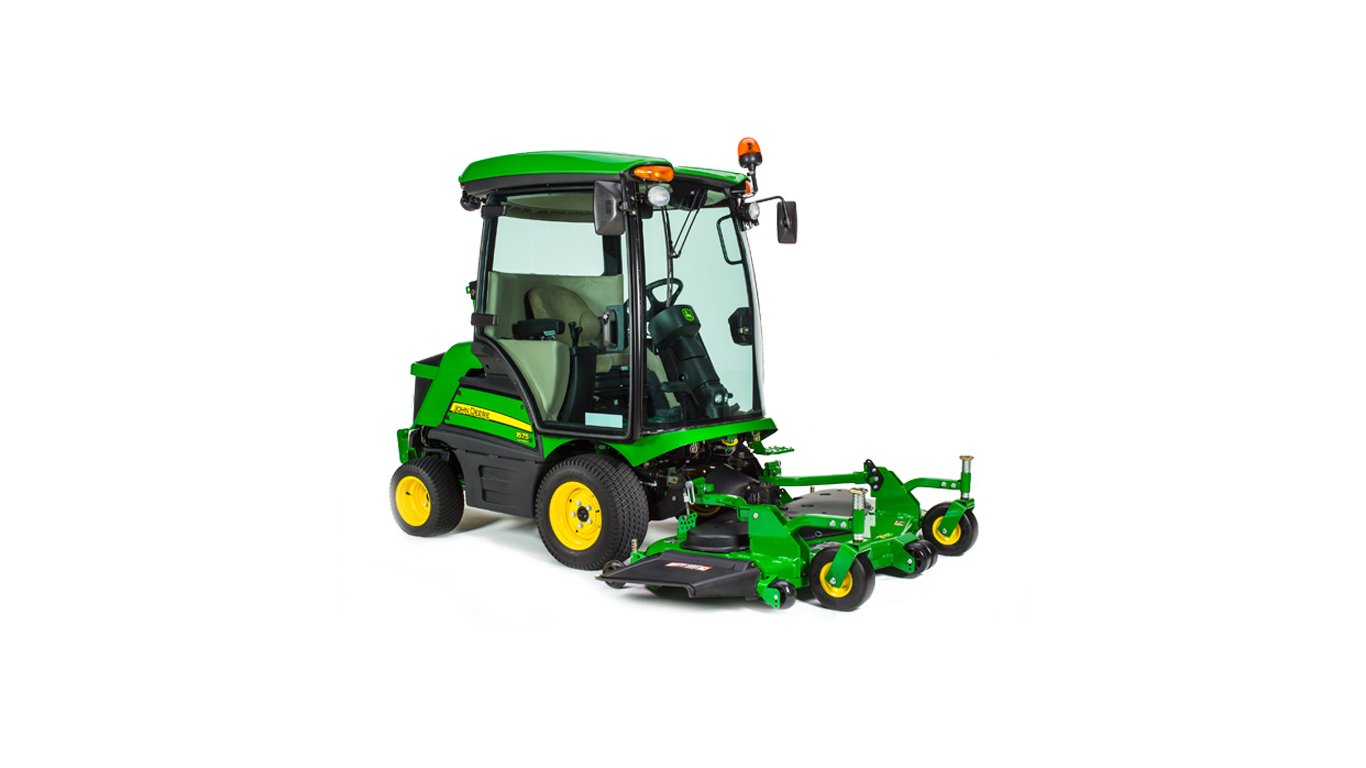 John Deere 1575 : Commercial mowers terraincut™ front john