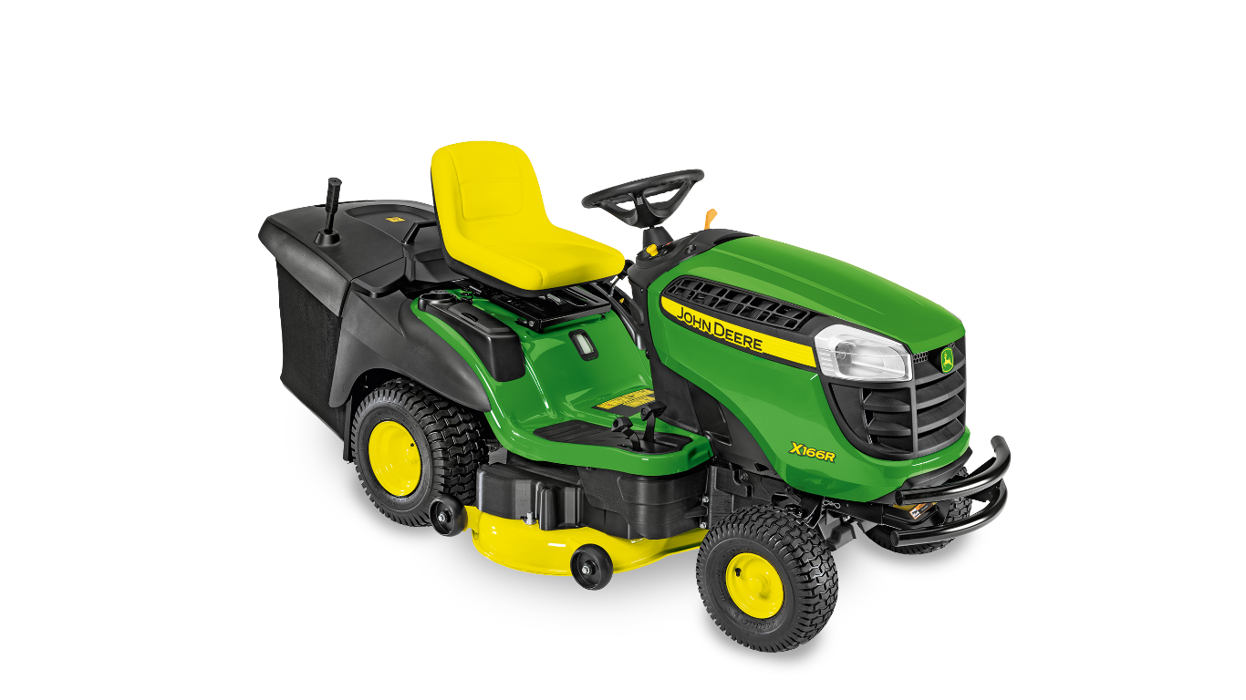 x166r ride on mower 100 series ride on mowers john. Black Bedroom Furniture Sets. Home Design Ideas