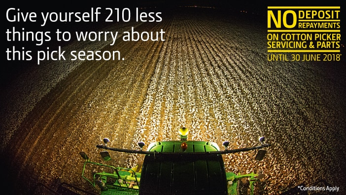 Get a genuine head start this harvest season.