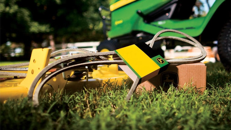Great value and savings on genuine mower parts and attachments*