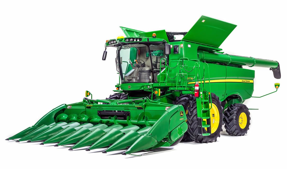 John Deere introduces its smarter S700 Combines for model year 2018 production