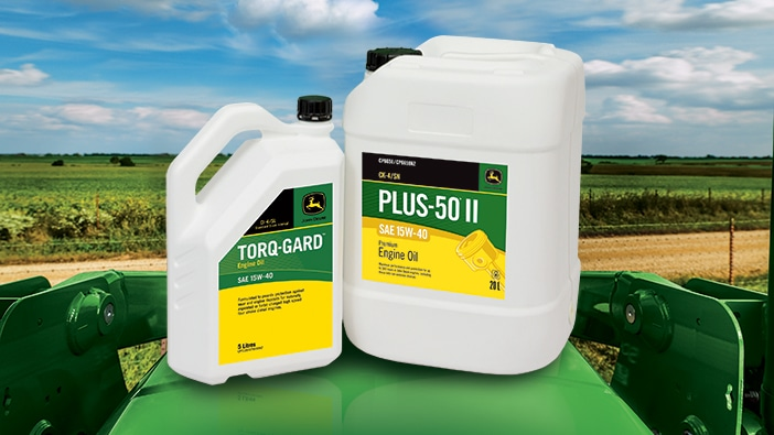 John Deere Plus-50 II Oil and Torq-Gard