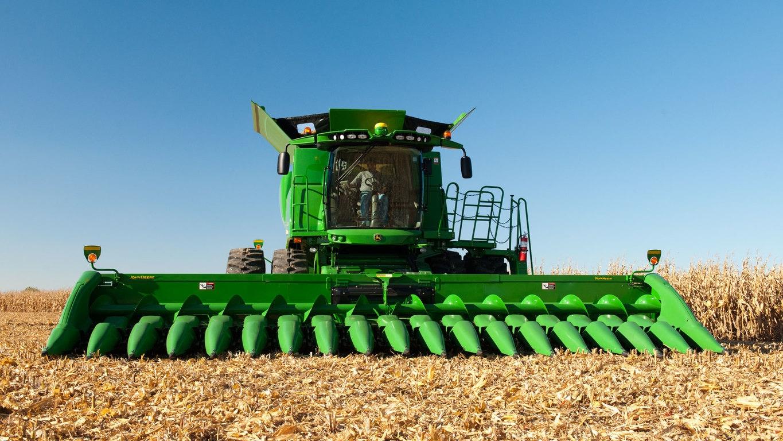 T670 Combine Harvesting John Deere Australia Mower Deck Belt Diagram In Addition 618c Corn Head