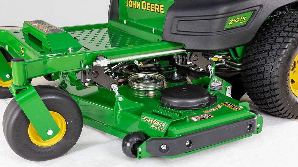 image of rear discharge mower