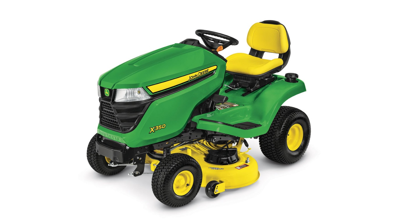 Premium ride on mower for heavy-duty mowing, mulching & bagging