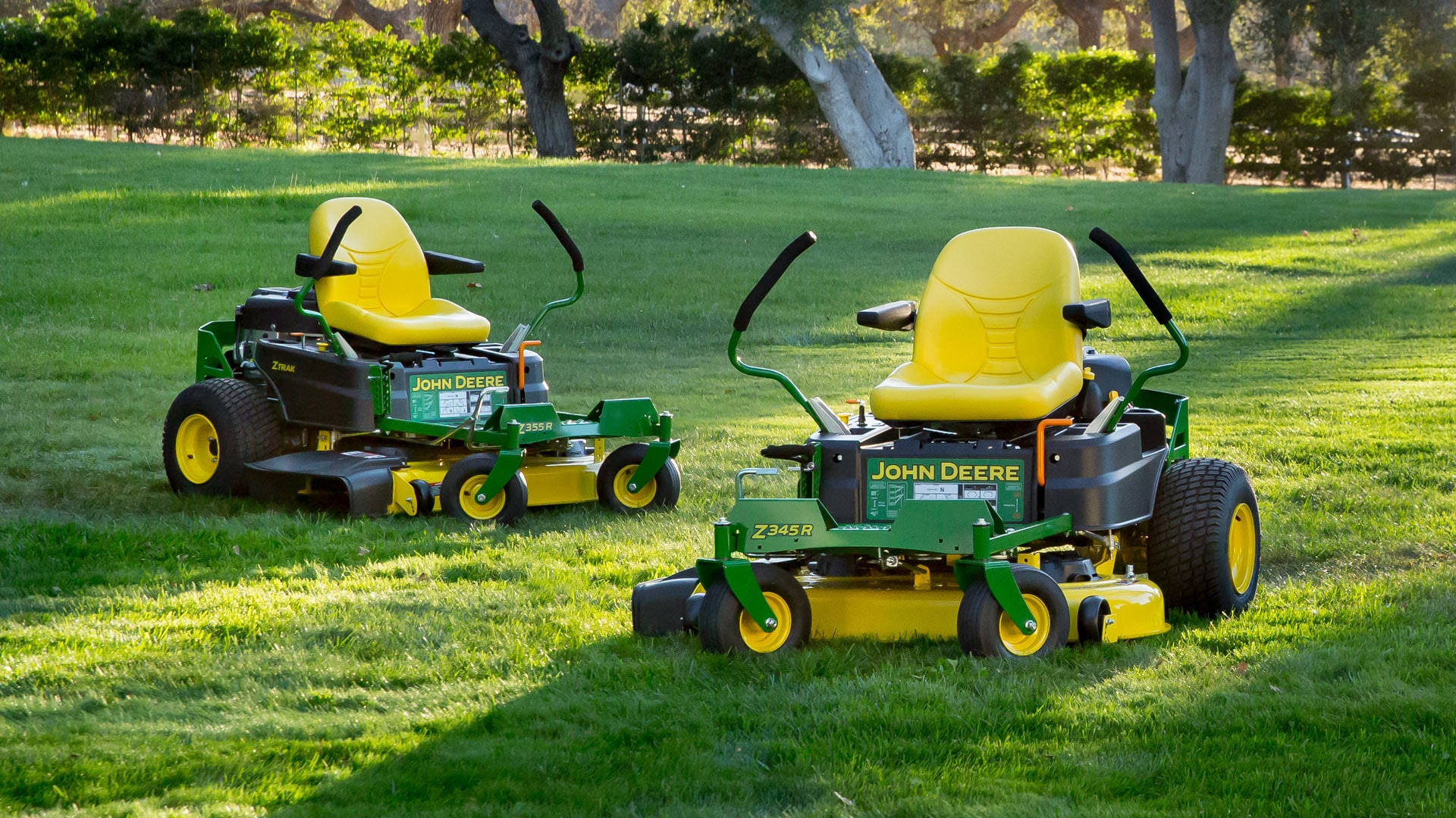 The ZTrak Zero-Turn Mowers are great for any residential mowing needs.