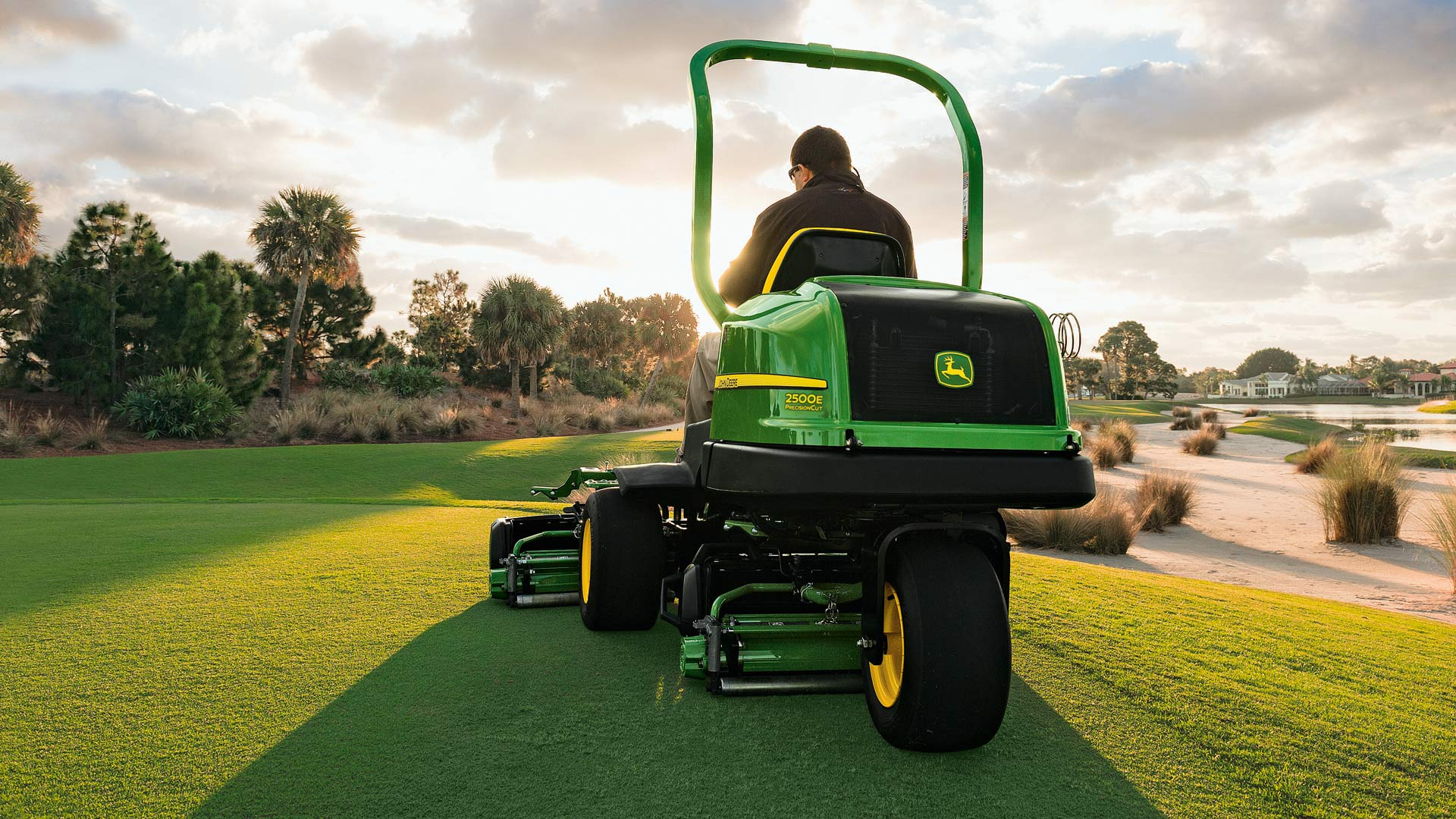 How can one greens mower satisfy so many people?