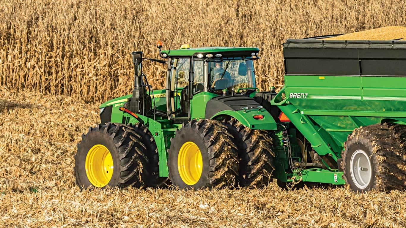 Large 4 Wheel Drive Tractors : Rt tractor four wheel drive track john deere