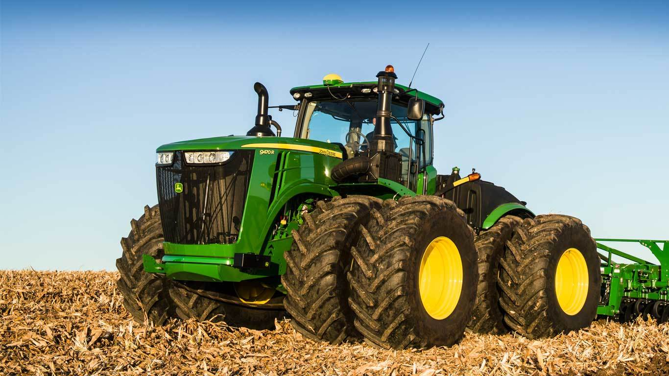 Uses Of Four Wheel Tractor : R tractor four wheel drive track john deere