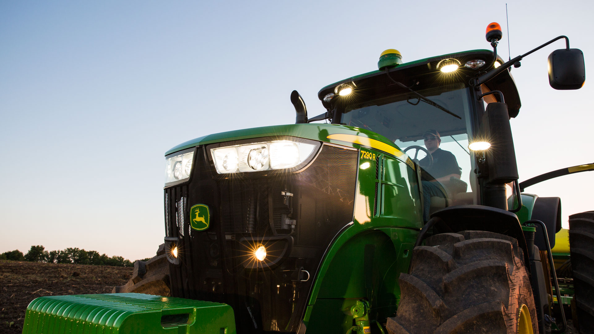 The 7R Series Tractors,