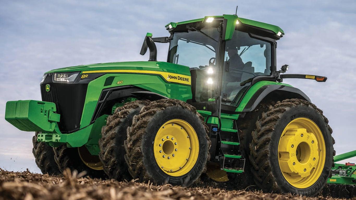 8R 410 Tractor | 8 Series Row Crop Tractors | John Deere Australia