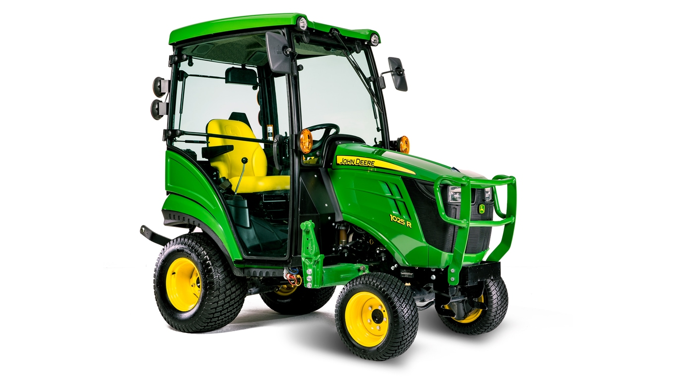 1025R 1 Family pact Utility Tractors
