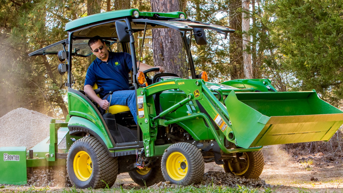 1025r 1 Family Compact Utility Tractors John Deere